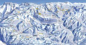 Ski map Portes du Soleil